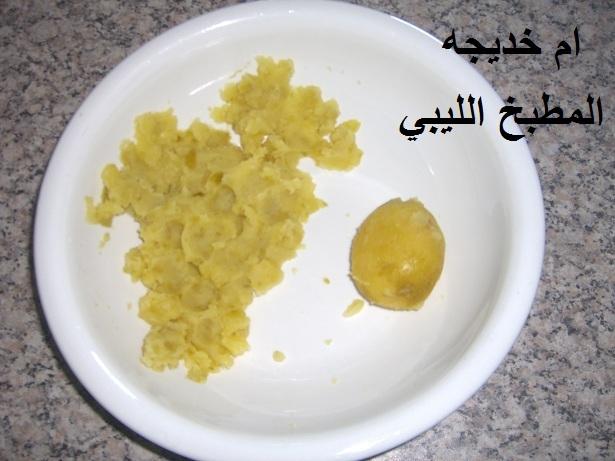 اكلات ليبيه 2013 طريقة تحضير كفتة الدجاج المقليه مطبخ الليبي بصور lwllwl.jpg