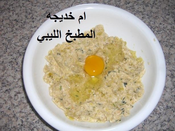 اكلات ليبيه 2013 طريقة تحضير كفتة الدجاج المقليه مطبخ الليبي بصور snssns.jpg